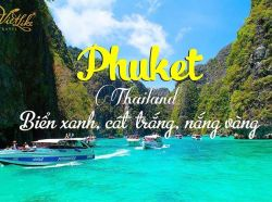 TOUR THÁI LAN PHUKET - ĐẢO PHI PHI 4N3D - BAY THAI AIRWAYS 4*